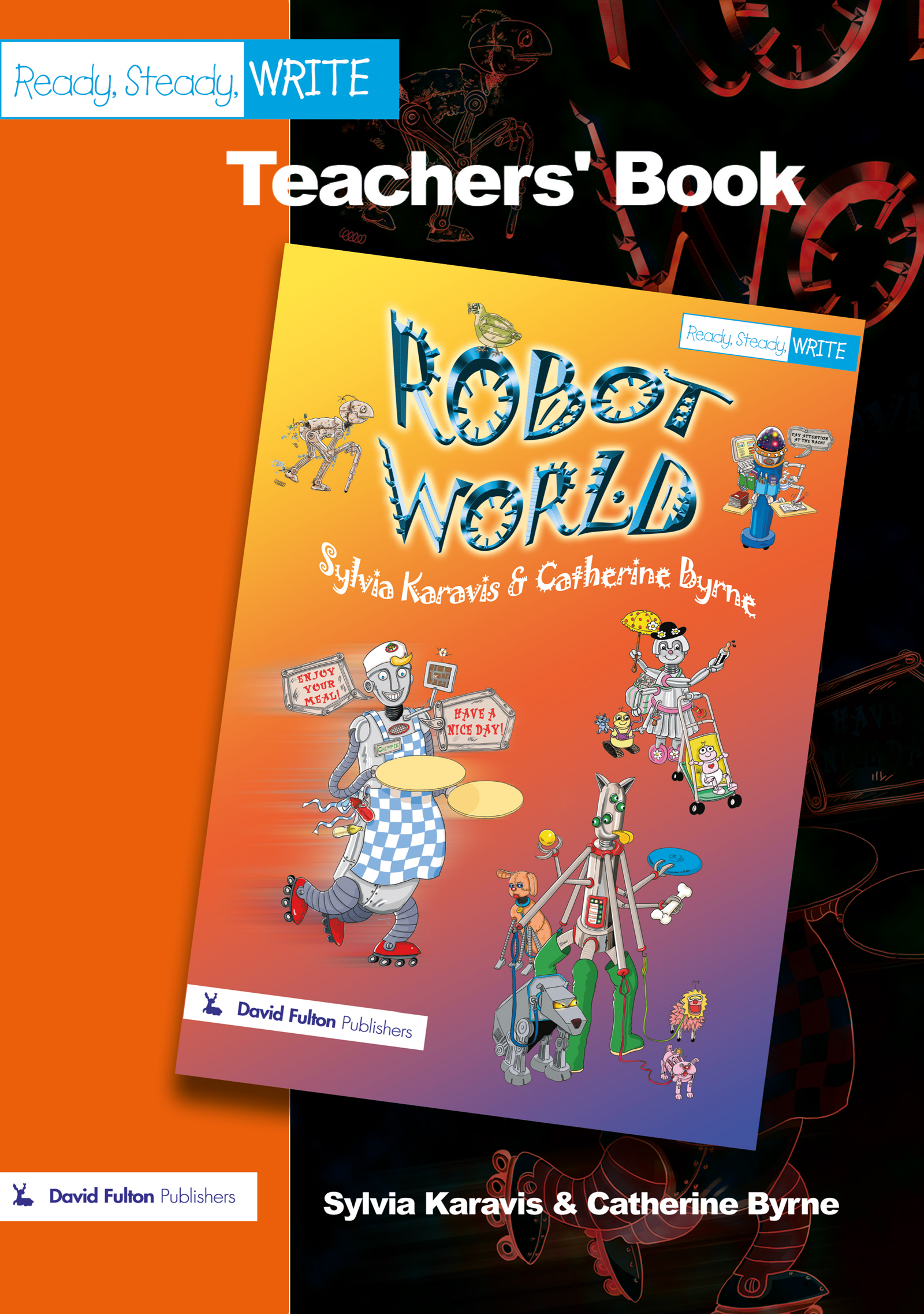 Robot World (Paperback) book cover
