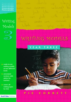 Writing Models Year 3 (Paperback) book cover