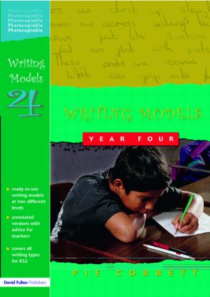 Writing Models Year 4 (Paperback) book cover