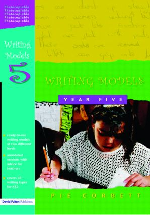 Writing Models Year 5 (Paperback) book cover