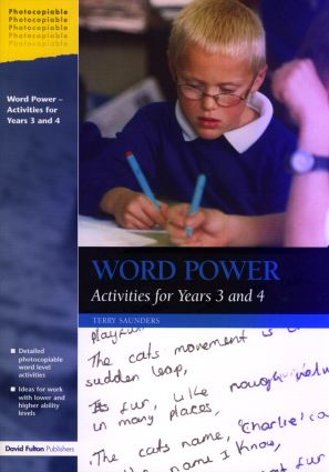 Word Power: Activities for Years 3 and 4 (Paperback) book cover