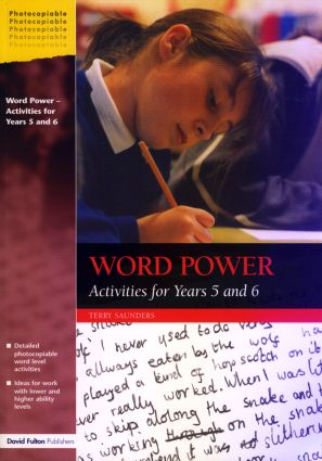 Word Power: Activities for Years 5 and 6 (Paperback) book cover
