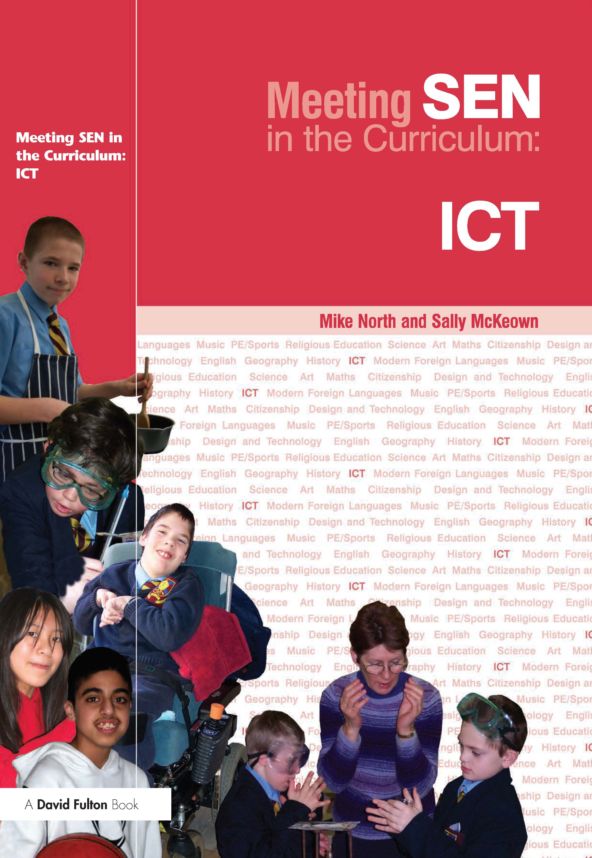 Meeting SEN in the Curriculum: ICT (Paperback) book cover