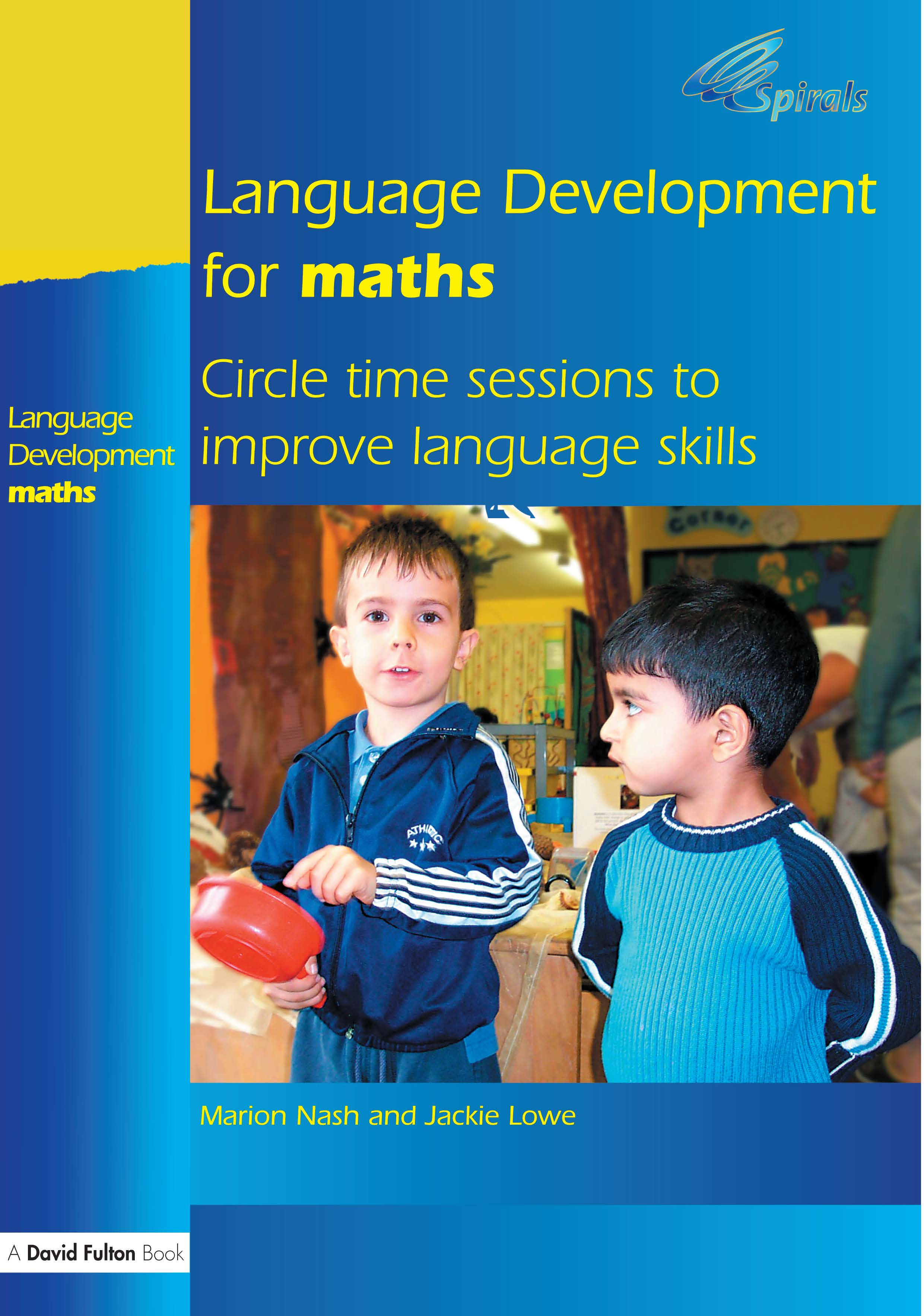 Language Development for Maths: Circle Time Sessions to Improve Communication Skills in Maths (Paperback) book cover