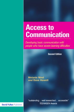 Access to Communication: Developing the Basics of Communication with People with Severe Learning Difficulties Through Intensive Interaction, 2nd Edition (Paperback) book cover