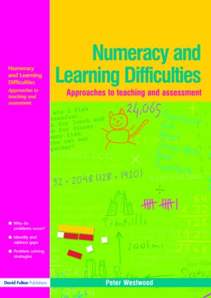 Numeracy and Learning Difficulties: Approaches to Teaching and Assessment (Paperback) book cover