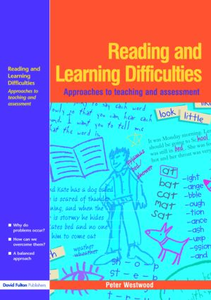 Reading and Learning Difficulties (Paperback) book cover