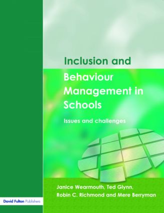 Inclusion and Behaviour Management in Schools: Issues and Challenges (Paperback) book cover