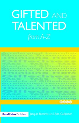 Gifted and Talented Education from A-Z: 1st Edition (Paperback) book cover