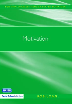 Motivation: 1st Edition (Paperback) book cover