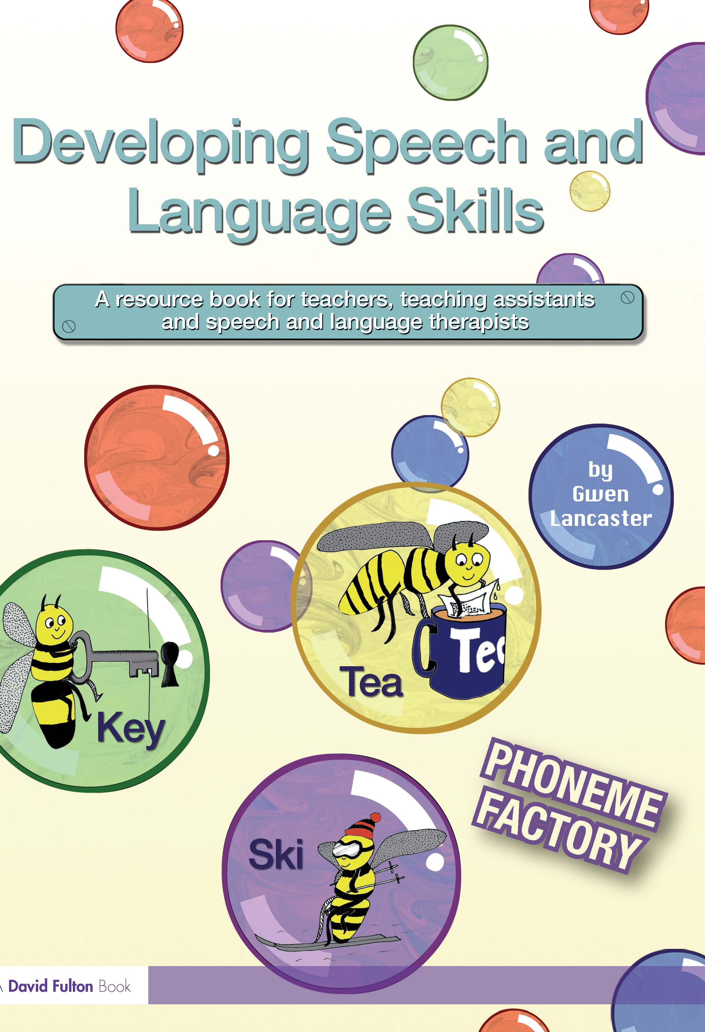 Developing Speech and Language Skills: Phoneme Factory (Paperback) book cover