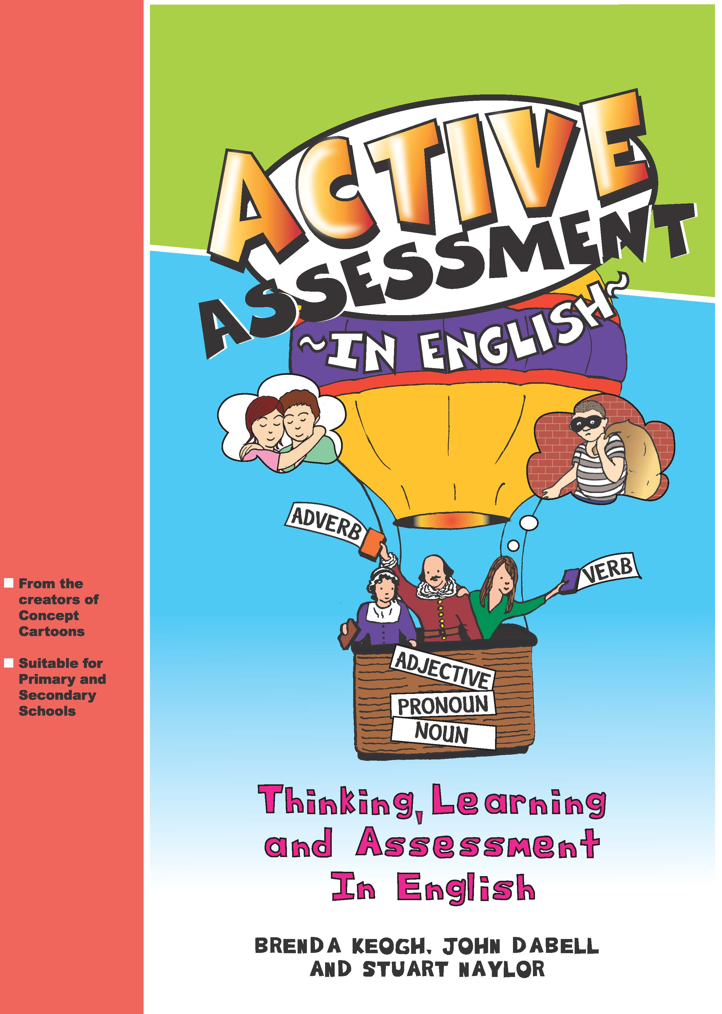Active Assessment in English: Thinking Learning and Assessment In English (Paperback) book cover