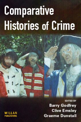 Comparative Histories of Crime (Paperback) book cover
