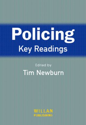 Policing: Key Readings: 1st Edition (Paperback) book cover