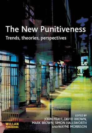 The New Punitiveness (Paperback) book cover