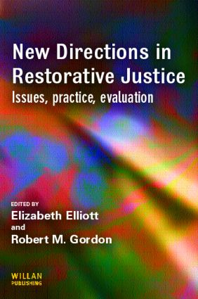 New Directions in Restorative Justice: 1st Edition (Paperback) book cover