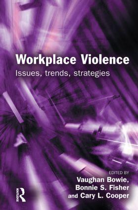 Workplace Violence (Hardback) book cover