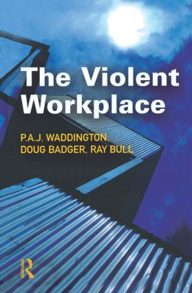 The Violent Workplace (Hardback) book cover