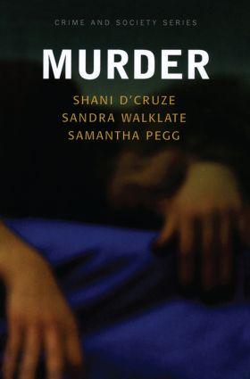 Murder book cover