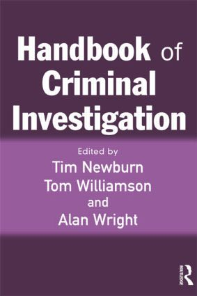 Handbook of Criminal Investigation (Paperback) book cover