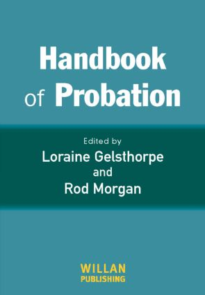 Handbook of Probation: 1st Edition (Paperback) book cover