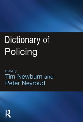 Dictionary of Policing (Paperback) book cover