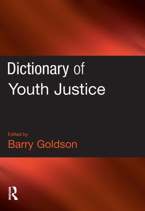 Dictionary of Youth Justice (Paperback) book cover