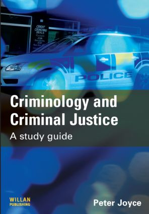 Criminology and Criminal Justice: A Study Guide (Paperback) book cover