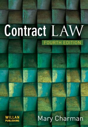 Contract Law: 4th Edition (Paperback) book cover