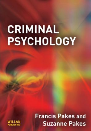 Criminal Psychology (Paperback) book cover