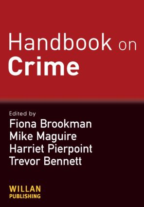 Handbook on Crime (Paperback) book cover