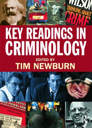 Key Readings in Criminology (Paperback) book cover