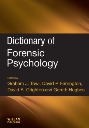 Dictionary of Forensic Psychology: 1st Edition (e-Book) book cover