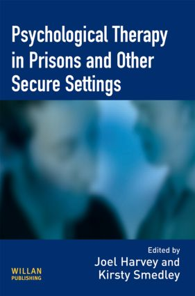 Psychological Therapy in Prisons and Other Settings