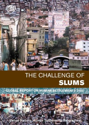 The Challenge of Slums: Global Report on Human Settlements 2003, 1st Edition (Paperback) book cover