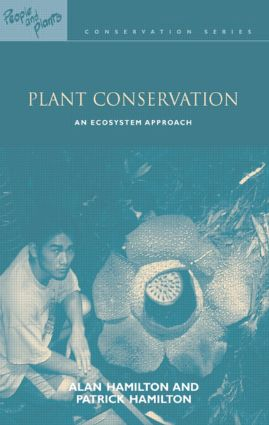 Plant Conservation: An Ecosystem Approach (Paperback) book cover