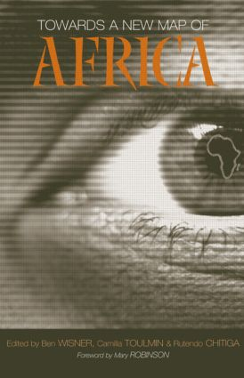 Towards a New Map of Africa (Paperback) book cover