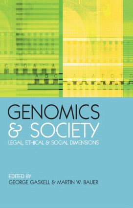 Genomics and Society: Legal, Ethical and Social Dimensions book cover
