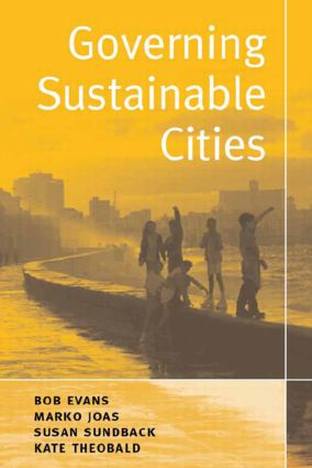 Governing Sustainable Cities: 1st Edition (Paperback) book cover