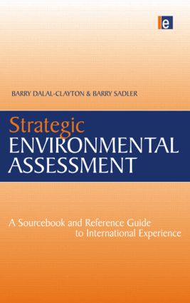 Strategic Environmental Assessment: A Sourcebook and Reference Guide to International Experience (Paperback) book cover