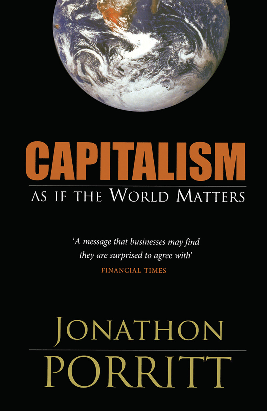 Capitalism As If the World Matters: 1st Edition (Hardback) book cover
