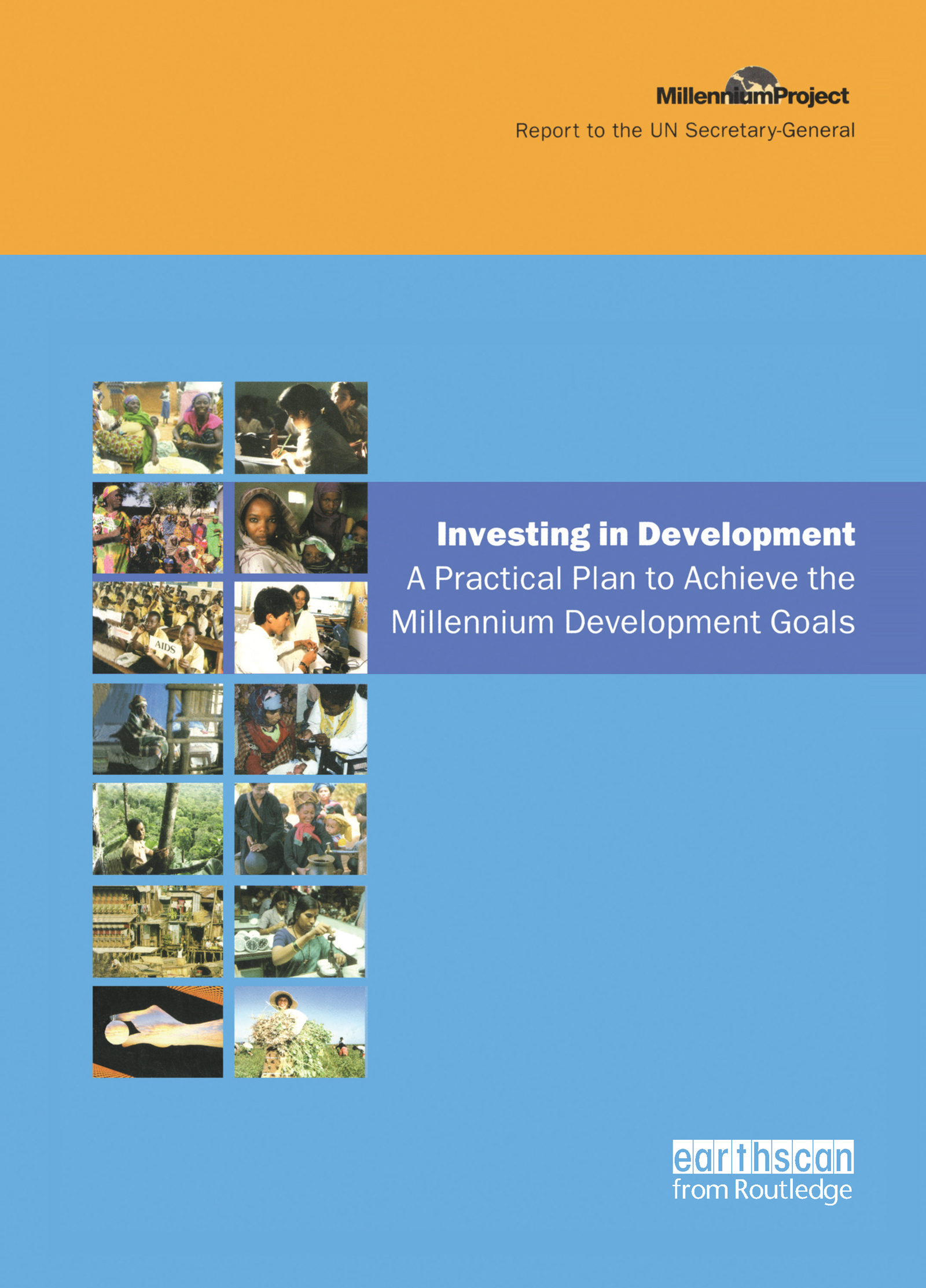 UN Millennium Development Library: Investing in Development: A Practical Plan to Achieve the Millennium Development Goals book cover