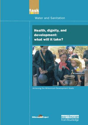 UN Millennium Development Library: Health Dignity and Development: What Will it Take? book cover