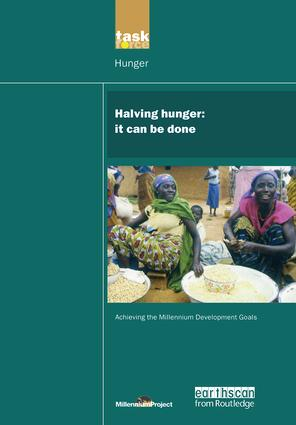 UN Millennium Development Library: Halving Hunger: It Can Be Done, 1st Edition (Paperback) book cover