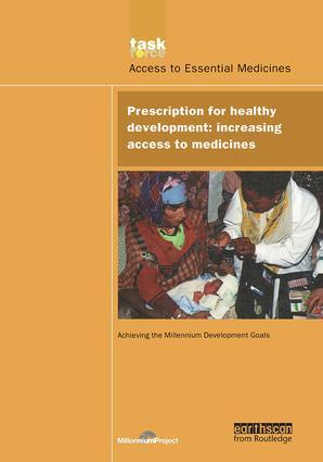 UN Millennium Development Library: Prescription for Healthy Development: Increasing Access to Medicines book cover