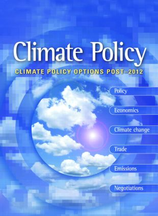Climate Policy Options Post-2012: European strategy, technology and adaptation after Kyoto (Paperback) book cover