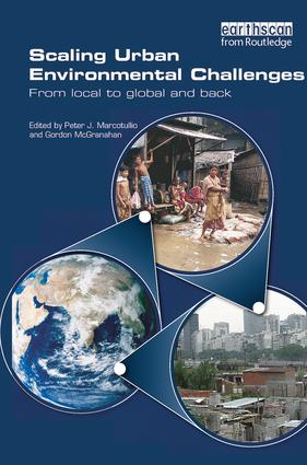Scaling Urban Environmental Challenges: From Local to Global and Back, 1st Edition (Paperback) book cover