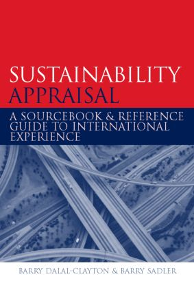 Sustainability Appraisal: A Sourcebook and Reference Guide to International Experience, 1st Edition (Hardback) book cover