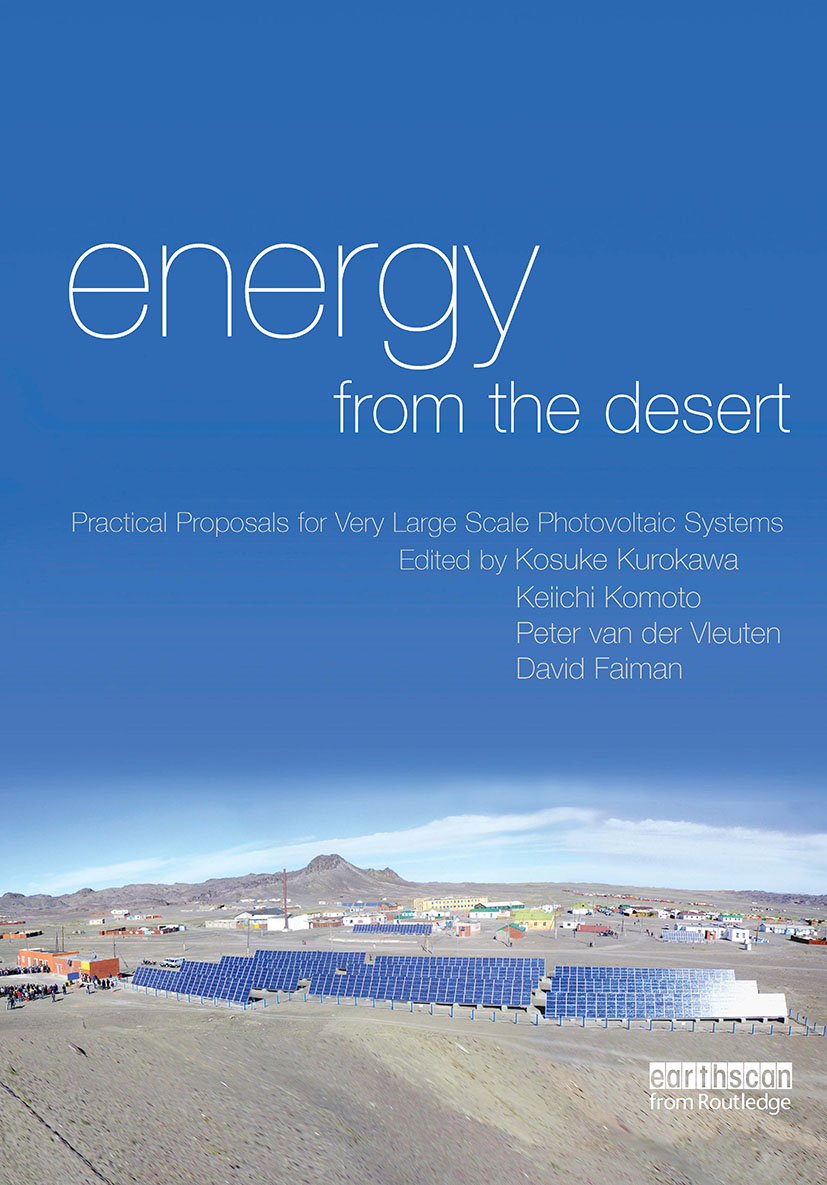 Energy from the Desert: Practical Proposals for Very Large Scale Photovoltaic Systems (Hardback) book cover