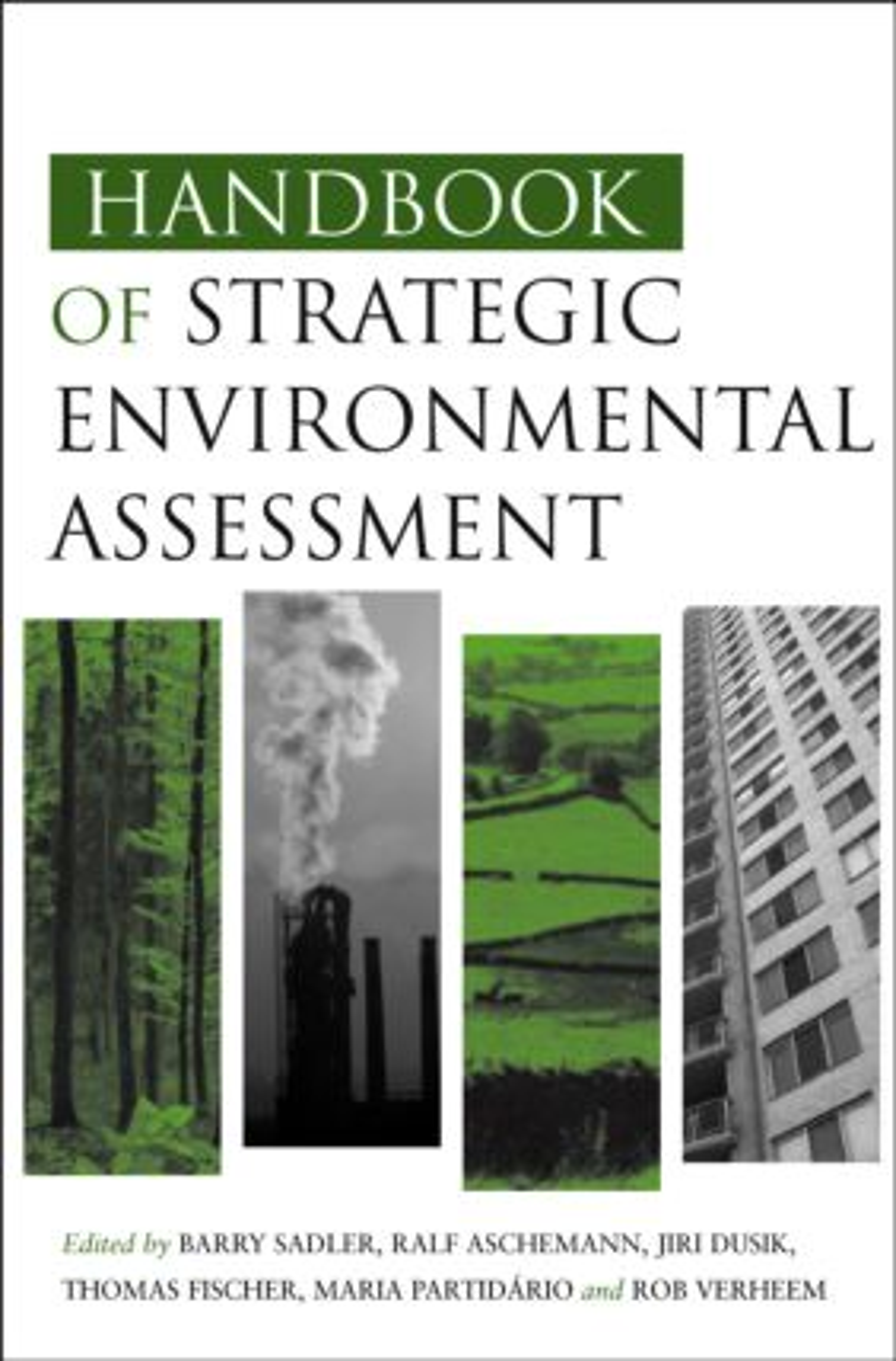 Handbook of Strategic Environmental Assessment (Hardback) book cover